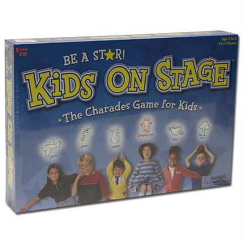 Kids On Stage The Charades Game for Kids - Better Buy Now Games Australia