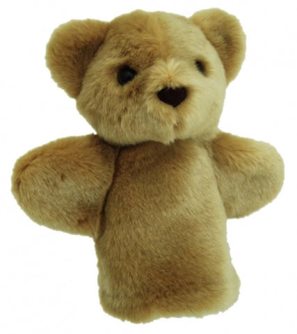 Bear Hand Puppet soft plush toy by Elka Australia