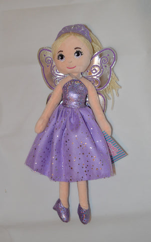 Fairy Ballerina MELODY Purple 35cm - Cotton Candy