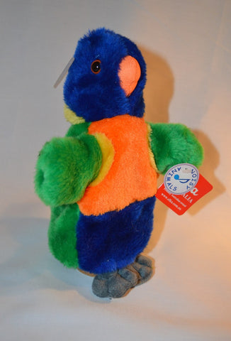 LORIKEET HAND PUPPET W/SOUND CHIP 25CM by ELKA