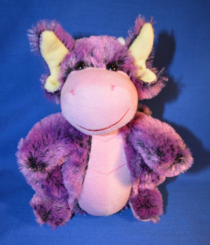 PURPLE DRAGON PLUSH TOY - 18cm