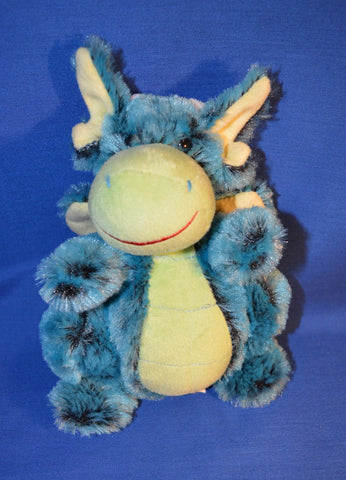 BLUE DRAGON PLUSH TOY - 18cm