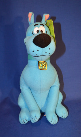 SCOOBY DOO PLUSH TOY BLUE LICENSED - 30CM