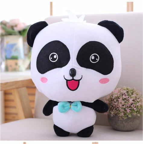 Cute Panda Plush Toy - Boy Panda 35cm