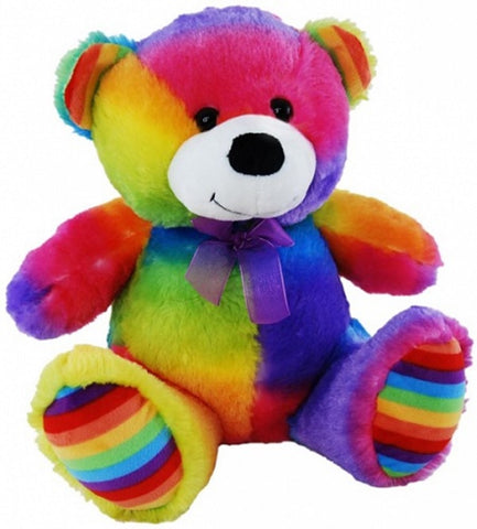 Rainbow Jelly Teddy Bear 40cm