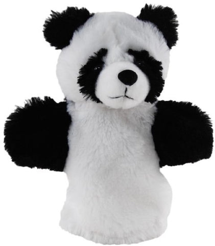 Panda Hand Puppet soft plush toy by Elka Australia