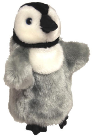 Penguin Hand Puppet soft plush toy by Elka Australia