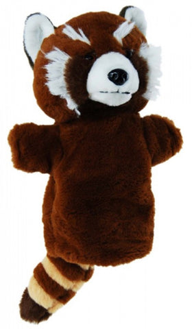 Red Panda Hand Puppet soft plush toy by Elka Australia