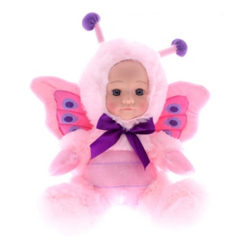 Fur Baby 25cm PALOMA Pink Butterfly - Cotton Candy