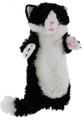 CAT LONG SLEEVED PUPPET 35cm soft plush toy by Elka
