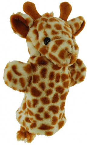 Giraffe Hand Puppet soft plush toy by Elka Australia