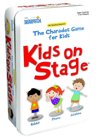 Charades Kids on Stage Tin - Australia only - Better Buy Now Games Australia