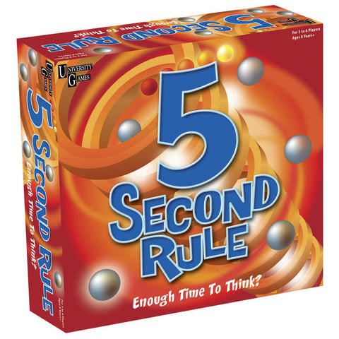 5 Second Rule - Australia only - Better Buy Now Games Australia