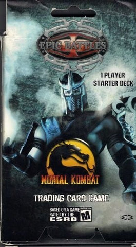 Epic Battles Mortal Kombat 1 Player Starter Deck - Better Buy Now Games Australia