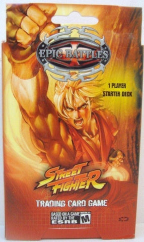 Epic Battles Street Fighter Starter Deck - Better Buy Now Games Australia