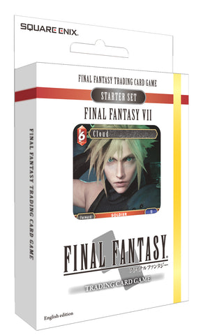 Final Fantasy Trading Card Game Starter Set Final Fantasy 7 (single unit) - Better Buy Now Games Australia