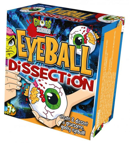 Gross Science - Eyeball Dissection - Australia only