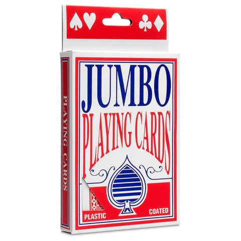 Jumbo Playing Cards - Australia only