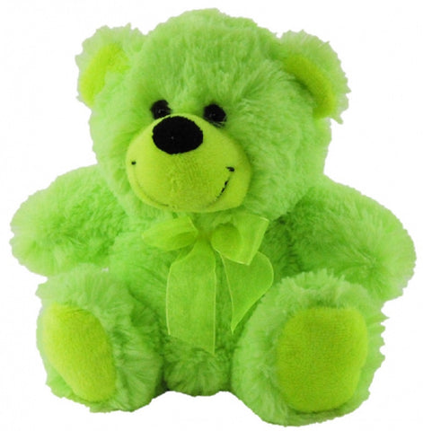 BEAR JELLY - LIME GREEN 30CM ELKA AUSTRALIA
