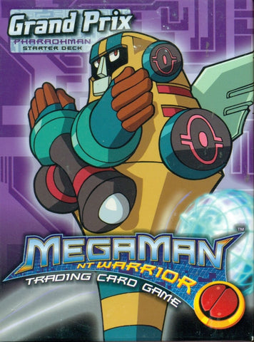 Mega Man Grand Prix Starter Deck (PharaohMan) - Better Buy Now Games Australia