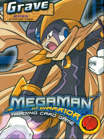 Mega Man Grave Starter Deck (Bass) - Better Buy Now Games Australia
