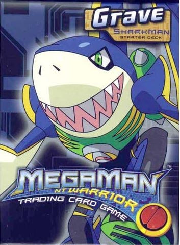 Mega Man Grave Starter Deck (Sharkman) - Better Buy Now Games Australia