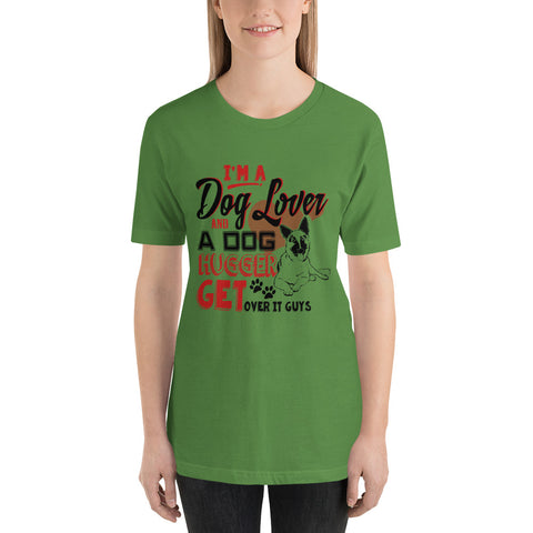 Short-Sleeve Unisex T-Shirt - I'm A Dog Lover