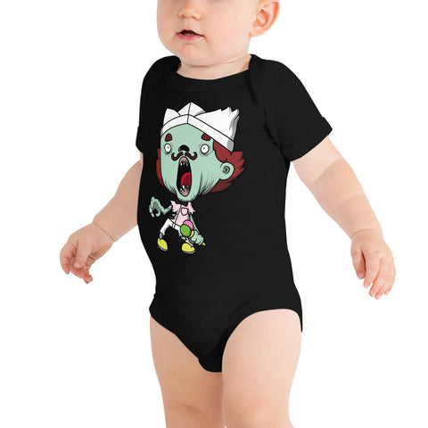 Baby One Piece - Ice Scream Zombie or Your Design