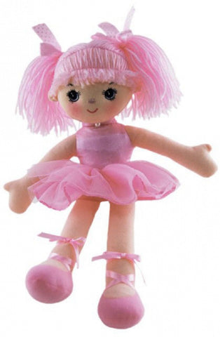 Doll Ballerina Georgia Pink 34cm by Elka
