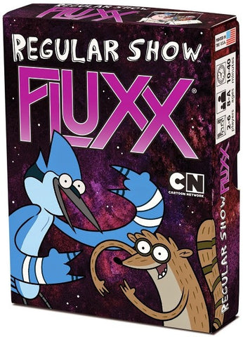 Regular Show Fluxx Deck - Australia only