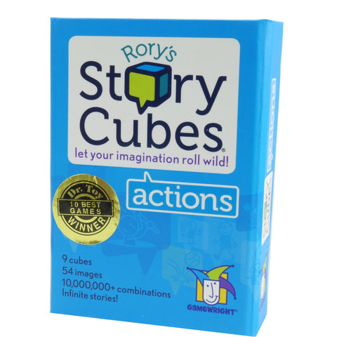 Rory's Story Cubes - Actions - Gamewright - Australia only