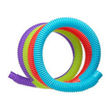 5 Slinky Brand Pop Toobs - Assorted Colors - Australia only
