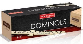 Waddingtons of London Dominoes (in Wooden Box) - Australia only
