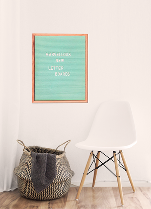 LETTER BOARD - LARGE MINT GREEN