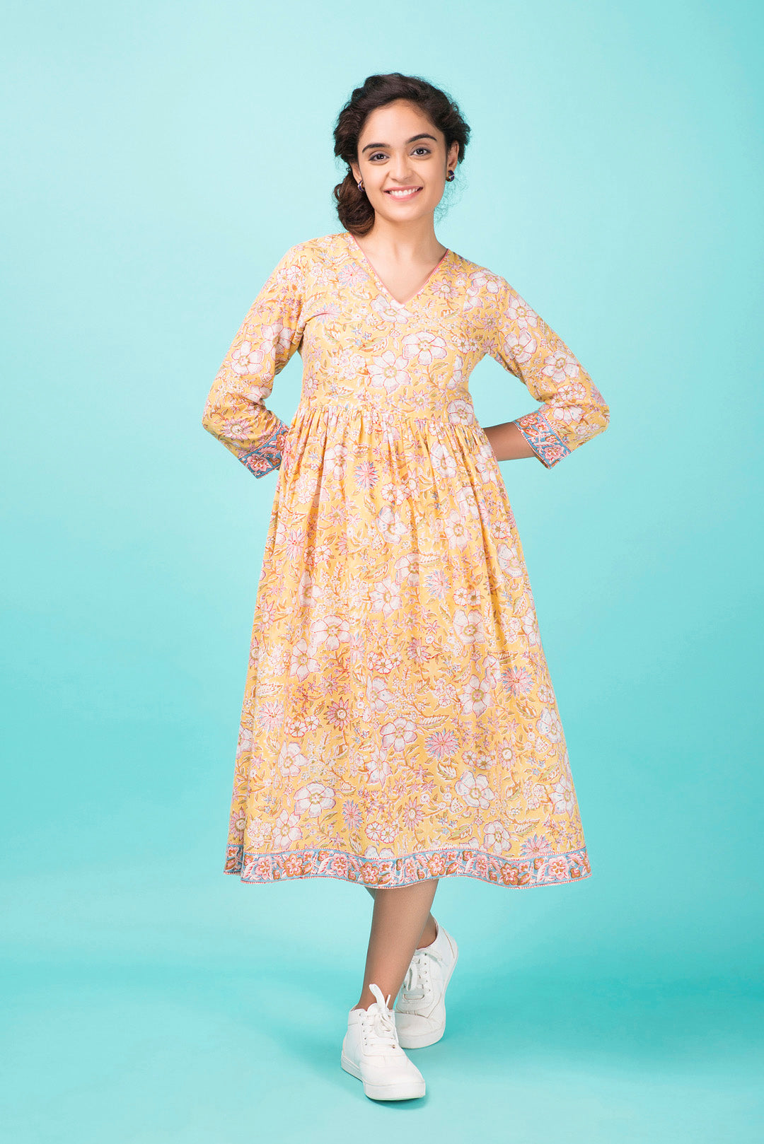 Garden Rose Day Dress