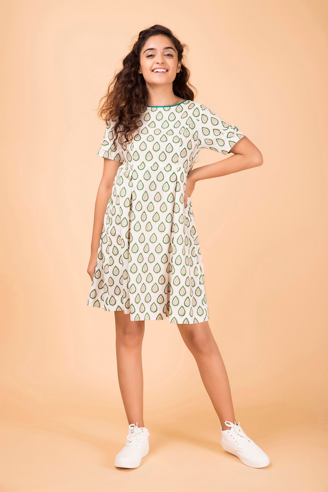 Tea Leaf Bow Dress