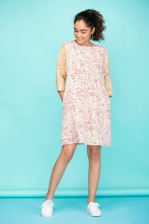 Valley Flowers Short Dress