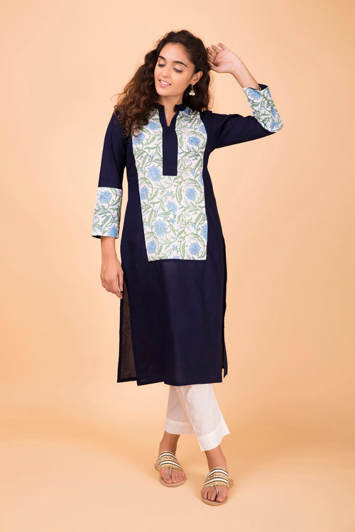Spaceblue Colorblock Kurta