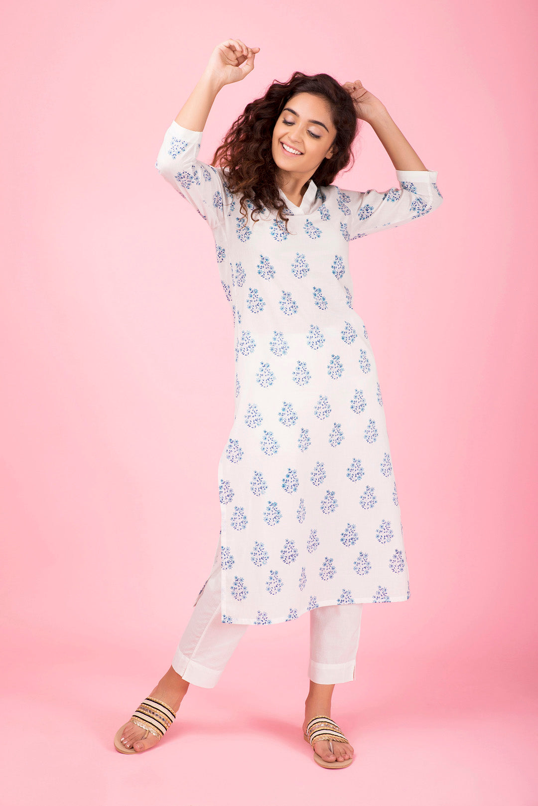 Bundle of Flowers Kurta