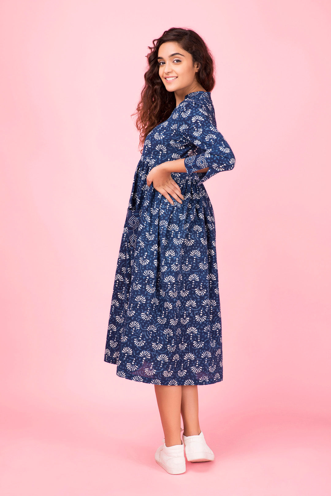 Indigo Pocket Dress