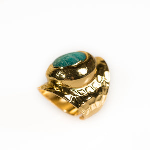 Bombom Heat Statement Ring