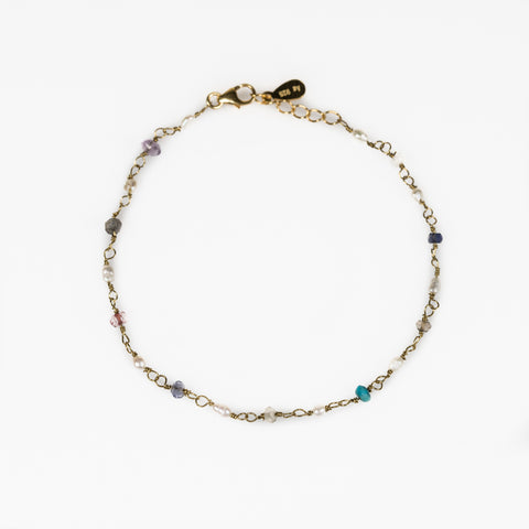 Back to basics rosary chain bracelet