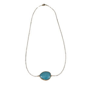 Bombom Heat Amulet Turquoise Necklace