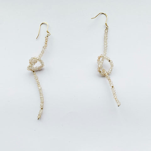 Bombom Fly Knot Earrings
