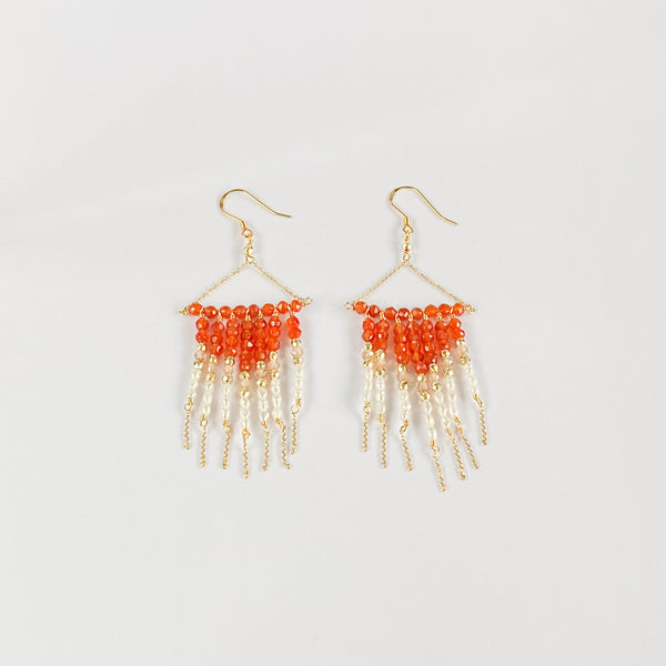 Carol x BombomBijoux Sunset Earrings
