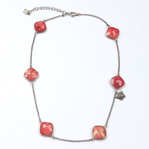 rough ruby necklace