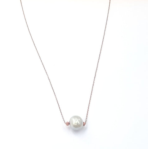 Meringue Pearl Necklace