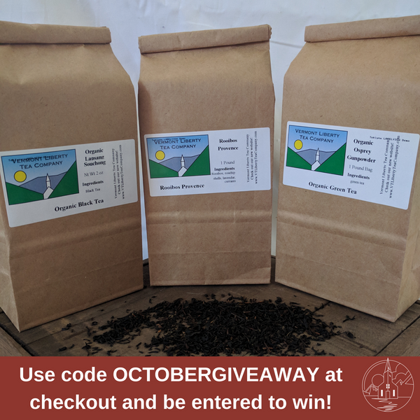 Use code OCTOBERGIVEAWAY at checkout and be entered to win!