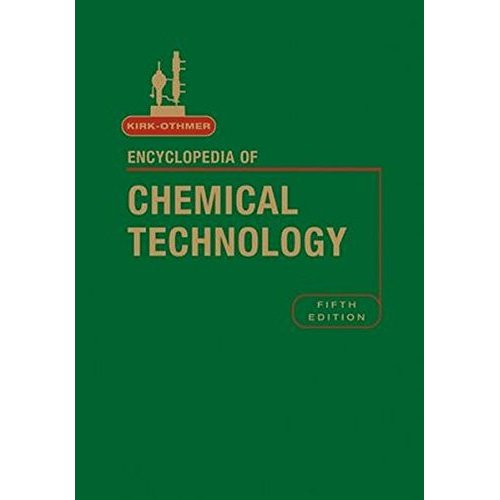 Encyclopedia of Chemical Technology: v. 18 (Kirk 5e Print Continuation Series)