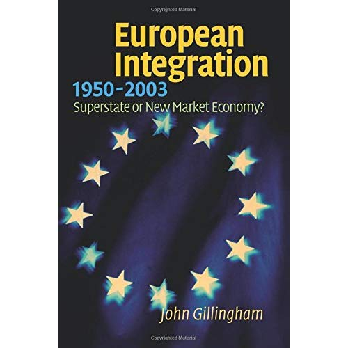 European Integration, 1950-2003: Superstate or New Market Economy?